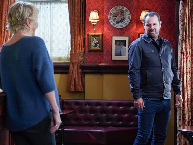 Shirley and Mick on EastEnders on October 29, 2020