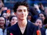 Timothee Chalamet at the UK premiere of Beautiful Boy in October 2018