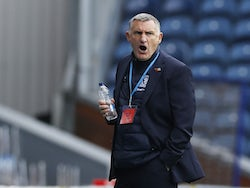Blackburn Rovers manager Tony Mowbray pictured on October 17, 2020
