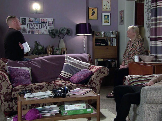 Sean and Eileen on the second episode of Coronation Street on November 6, 2020