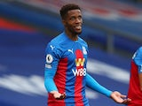 Crystal Palace winger Wilfried Zaha pictured in September 2020