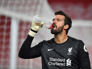 Liverpool goalkeeper Alisson lavishes praise on team's young defenders