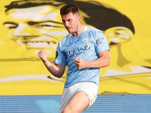 Aymeric Laporte returns to Man City training ahead of Dortmund tie