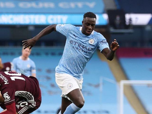 Benjamin Mendy back in Manchester City training
