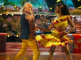 Bill Bailey and Oti Mabuse on Strictly Come Dancing week one on October 24, 2020