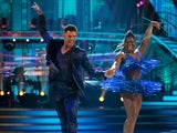 Clara Amfo and Aljaz Skorjanec on Strictly Come Dancing week one on October 24, 2020