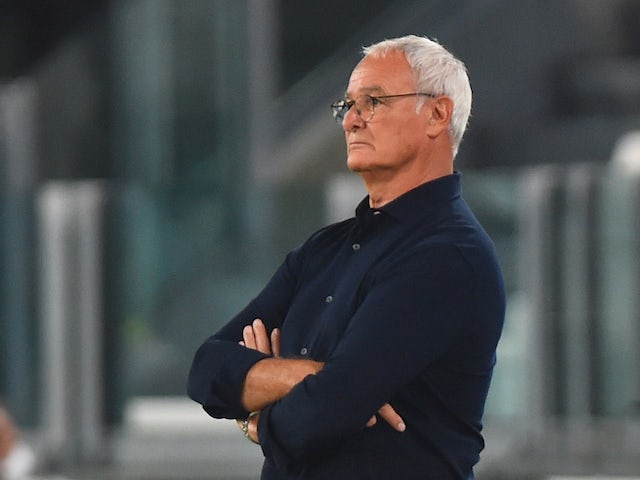 Sampdoria manager Claudio Ranieri pictured in September 2020