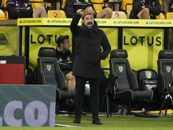 Norwich manager Daniel Farke pictured on October 20, 2020