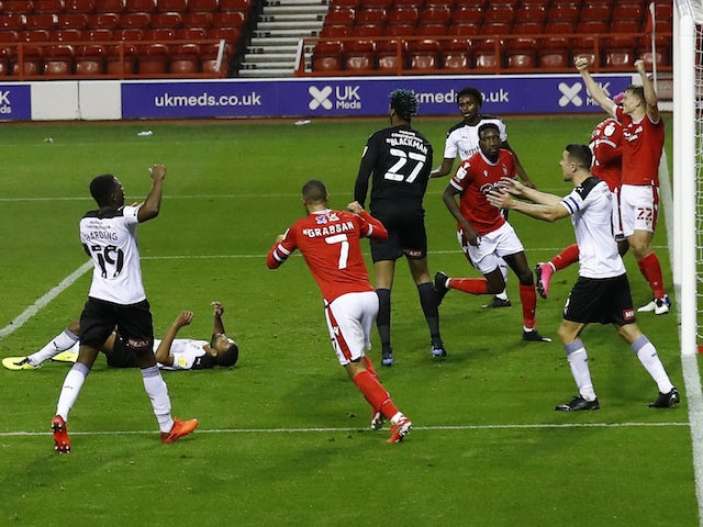 Result: Nottingham Forest strike late to extend Rotherham hoodoo