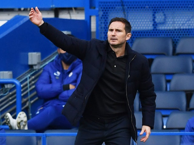 Chelsea manager Frank Lampard pictured o October 17, 2020