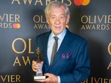 Ian McKellen at the Olivier Awards on October 25, 2020