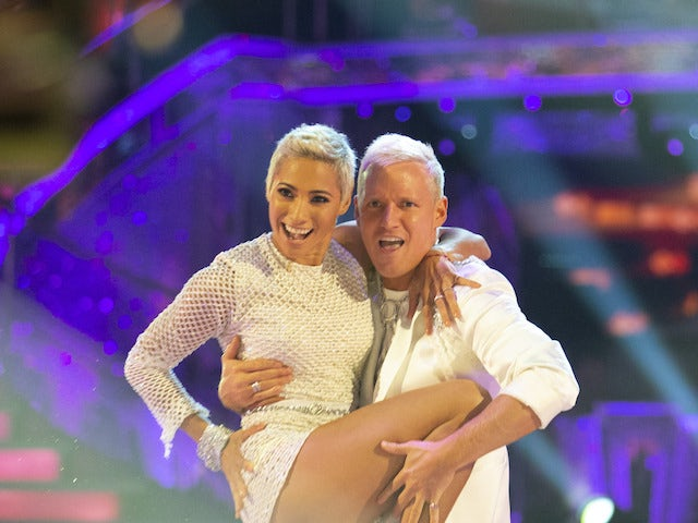 Jamie Laing and Karen Hauer on Strictly Come Dancing week one on October 24, 2020