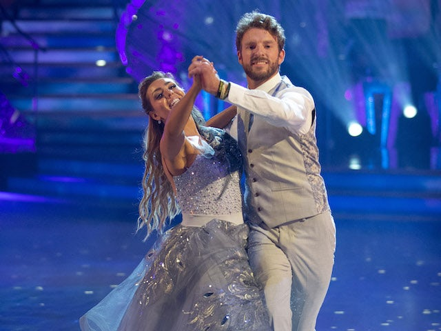 JJ Chalmers and Amy Dowden on Strictly Come Dancing week one on October 24, 2020