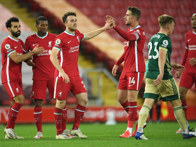 Jurgen Klopp pleased with Diogo Jota's contribution
