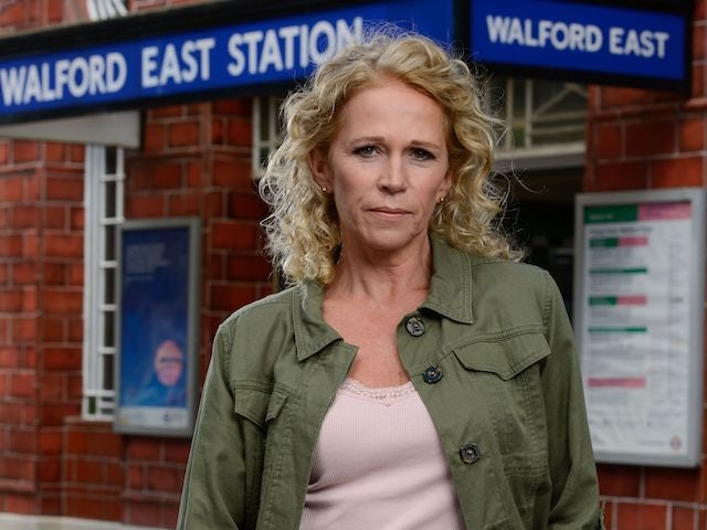 Lucy Benjamin as Lisa Fowler on EastEnders