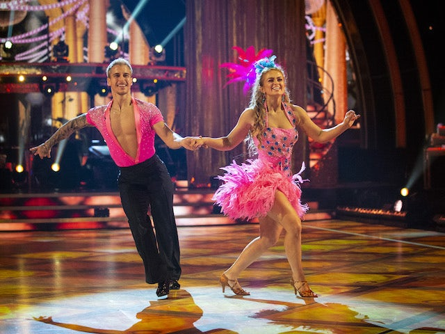 Maisie Smith and Gorka Marquez on Strictly Come Dancing week one on October 24, 2020