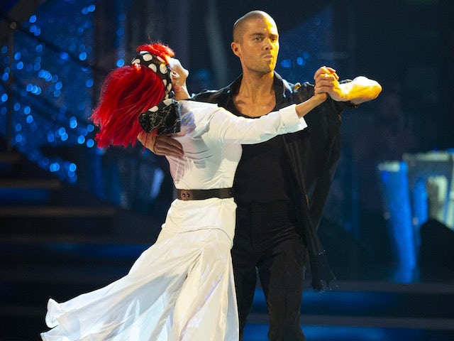 Max George and Dianne Buswell on Strictly Come Dancing week one on October 24, 2020