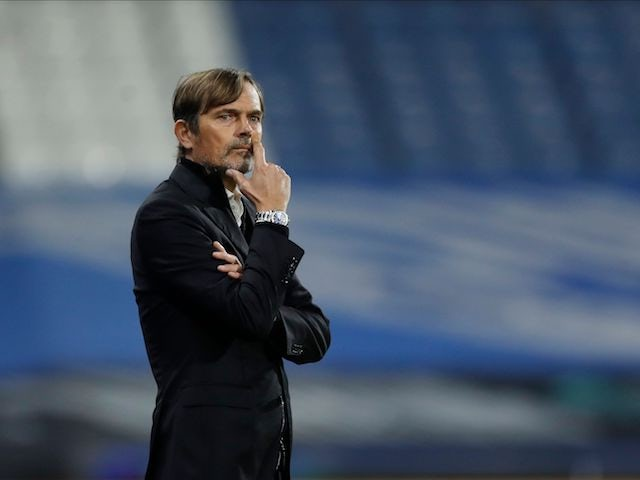 Derby County manager Phillip Cocu pictured on October 20, 2020