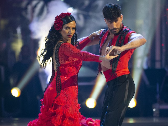 Ranvir Singh and Giovanni Pernice on Strictly Come Dancing week one on October 24, 2020