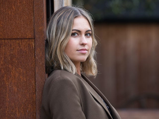 Hollyoaks cast Rhiannon Clements as Cormac's daughter Summer