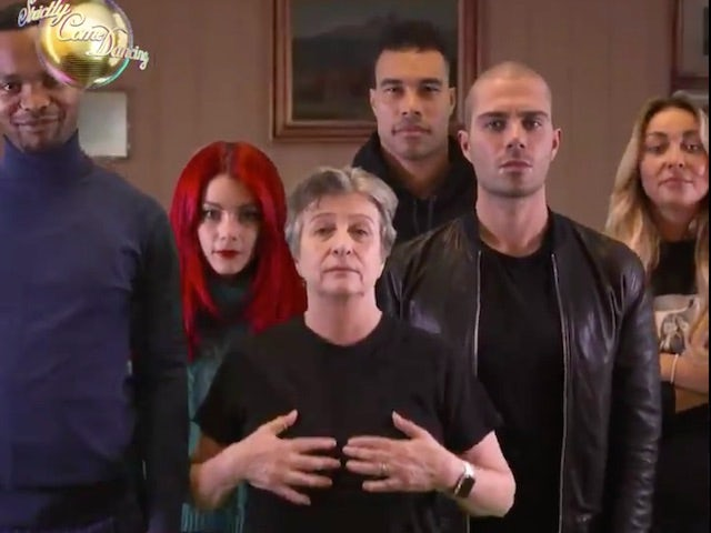 Watch: Strictly cast dance to Dadi Freyr's Think About Things