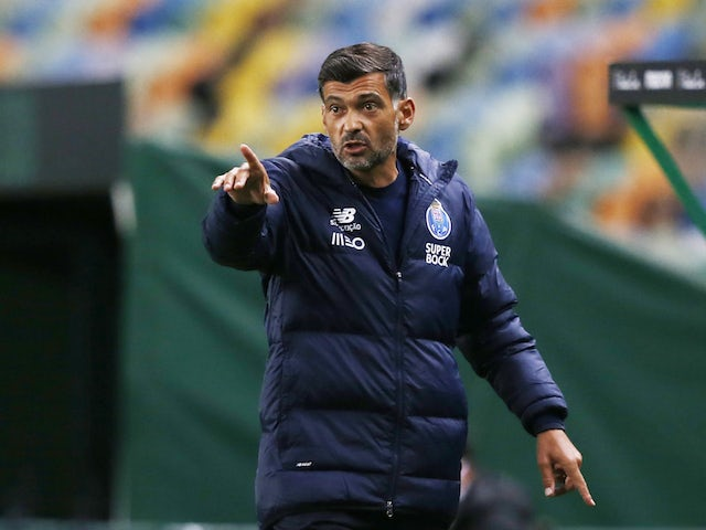 Porto manager Sergio Conceicao pictured in October 2020