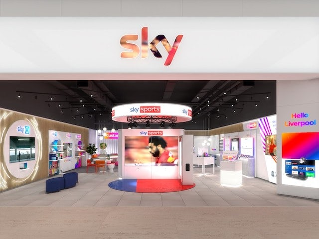 In Pictures: Sky to open bricks-and-mortar stores around UK