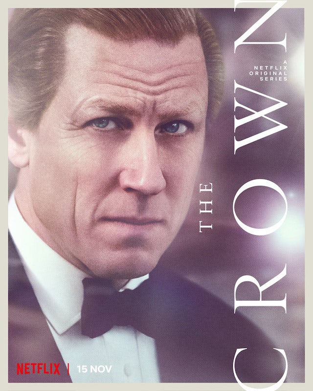 Prince Philip on the poster for The Crown season four