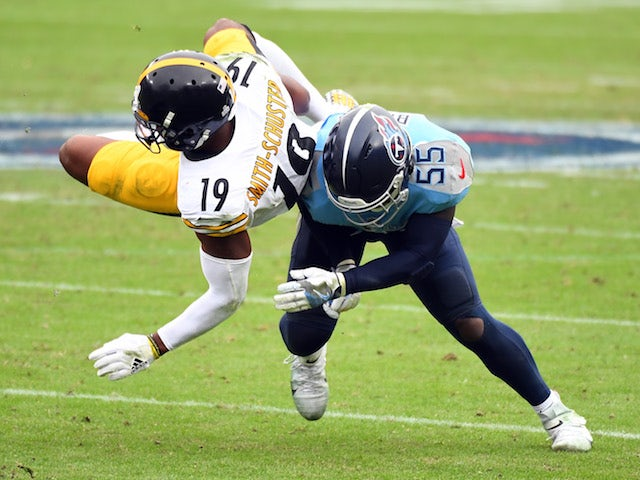 Result: Pittsburgh Steelers overcome Tennessee Titans to stay unbeaten