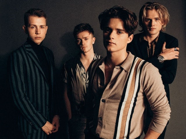 The Vamps leading way in UK albums chart
