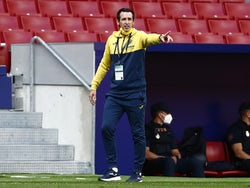 Villarreal manager Unai Emery pictured in October 2020
