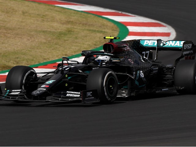 Valtteri Bottas leads the way in Portuguese GP first practice