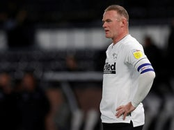 Derby County's Wayne Rooney pictured in October 2020
