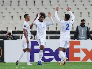 Jamie Vardy, Hamza Choudhury score as Leicester overcome AEK Athens