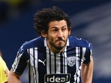 West Bromwich Albion defender Ahmed Hegazy also known as Ahmed Hegazi pictured in October 2020