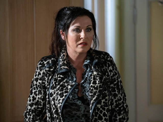 Kat on EastEnders on November 3, 2020