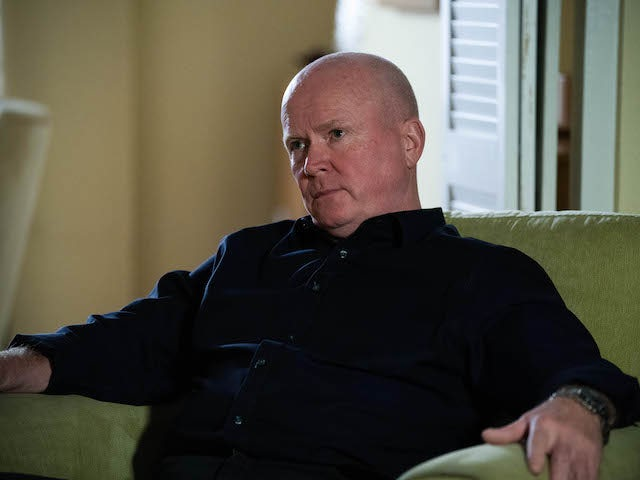 Phil on EastEnders on November 3, 2020