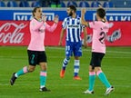 Result: Antoine Griezmann rescues a point for Barcelona at Alaves