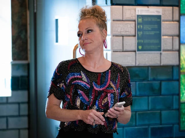 Linda on EastEnders on November 3, 2020