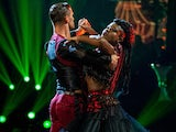 Clara Amfo and Aljaz Skorjanec on Strictly Come Dancing week two on October 31, 2020
