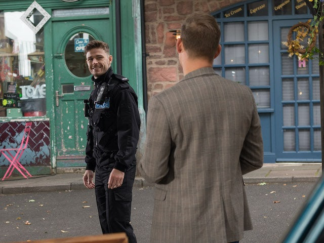 George on Hollyoaks on November 3, 2020