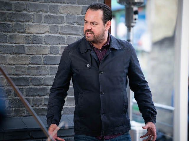 Mick on EastEnders on November 5, 2020