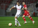 Tottenham Hotspur's Gareth Bale in action against Royal Antwerp in the Europa League on October 29, 2020