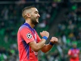 Hakim Ziyech pictured for Chelsea in October 2020