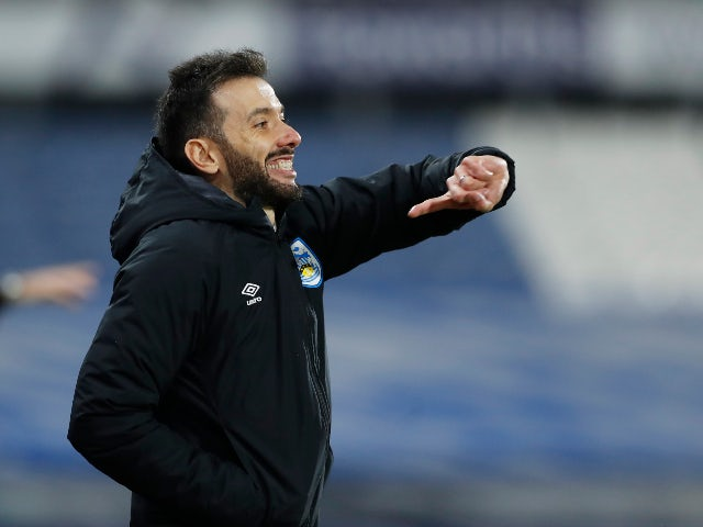 Huddersfield Town manager Carlos Corberan pictured in October 2020