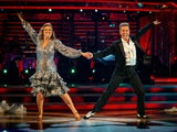 Jacqui Smith and Anton du Beke on Strictly Come Dancing week two on October 31, 2020