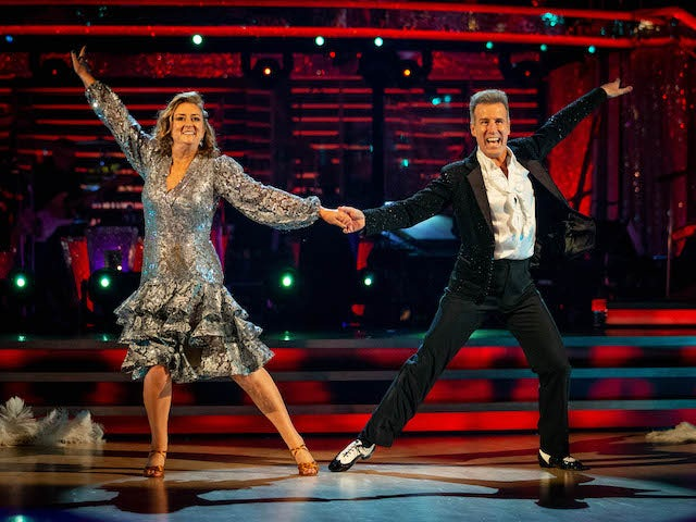 Strictly Come Dancing, week two: Jacqui Smith bottom of leaderboard