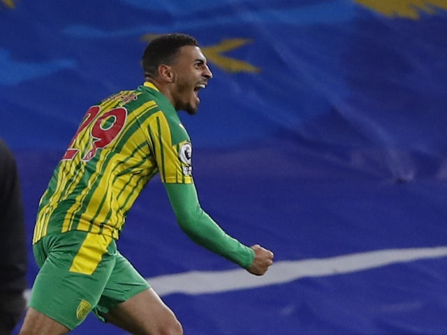 Result: Karlan Grant scores first West Brom goal to rescue point at Brighton