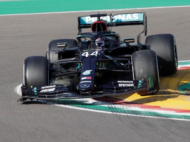 Result: Lewis Hamilton fastest in Imola practice