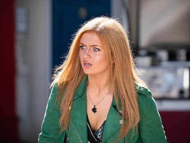 Tiffany on EastEnders on November 5, 2020